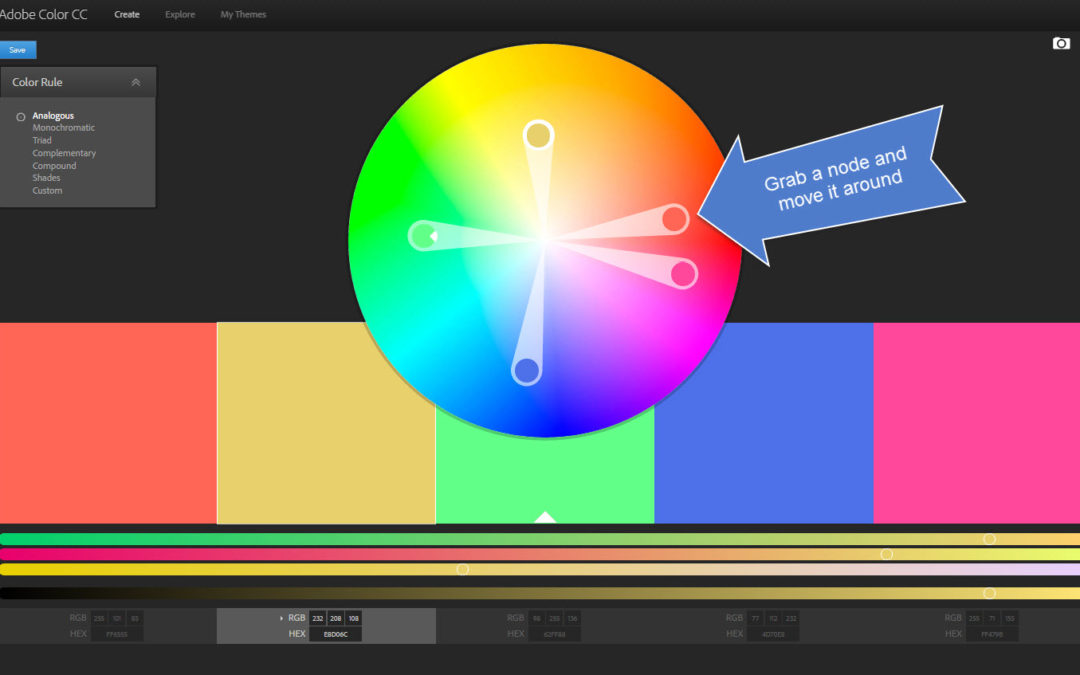The Adobe Color Wheel: Easy Color Palettes
