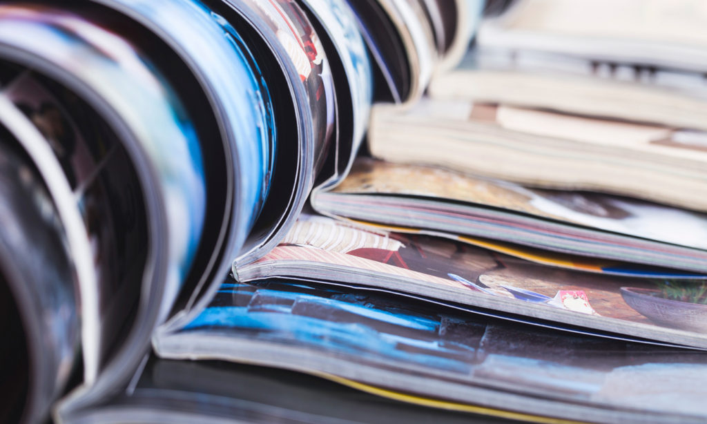 Printed catalog production is headed back up.