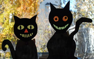 Scary! Halloween Paper Ideas for Kids